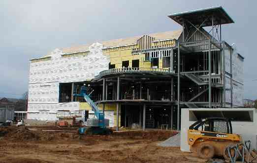 new building on Jan. 28