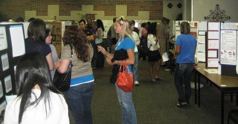 CBU Research Poster Session in 2010