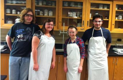Chemistry Lab Assistants