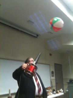 Physics demo during SPS talk