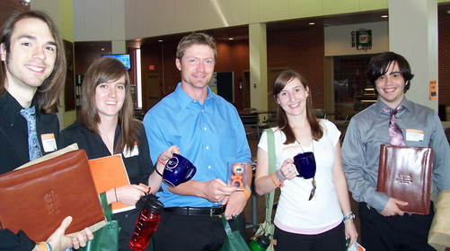 CBU students at TAS in 2011