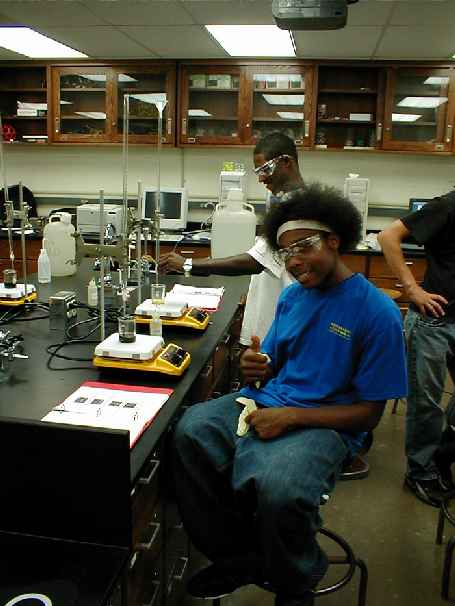 Dr. Condren's Chem 115 lab