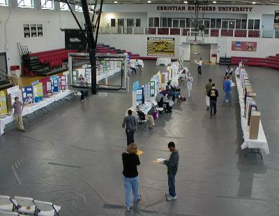 Science Fair projects in Canale Arena