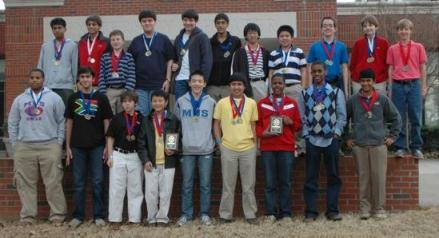 MUS team for the Science Olympiad