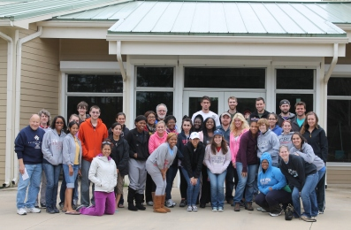 Gulf Coast field trip group