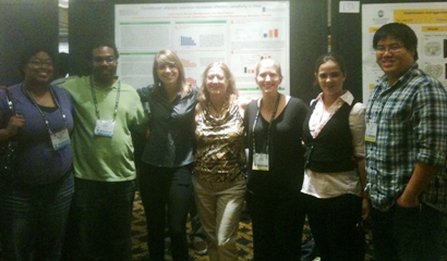 some of the CBU participants at the SNF meeting