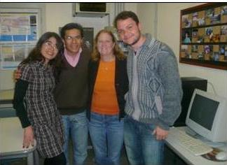 Dr. Fitzgerald and Dr. Toledo's Staff in Sao Paulo, Brazil