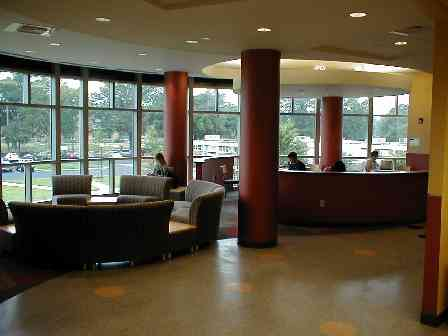 Student Lounge next to the Biochemistry Lab in CW