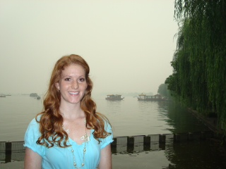 Hannah Shackelford in China